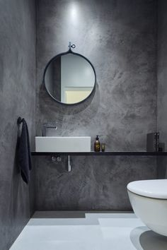 Modern Scandinavian Bathroom Interior In White - Interior Design Ideas & Home De. Modern Scandinavian Bathroom Interior In White – Interior Design Ideas & Home Decorating Inspirat Bad Inspiration, Bathroom Inspiration, Bathroom Ideas, Bathroom Designs, Cloakroom Ideas, Kitchen Designs, Bathroom Interior, Modern Bathroom, Loft Bathroom