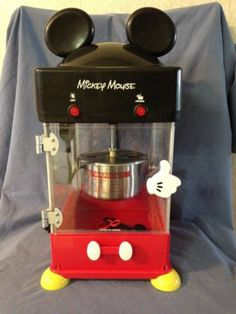 Disney Mickey Mouse Popcorn Maker Machine | EBay