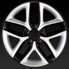 """Kia Forte wheels for sale 2010-2013. 17"""" Black Silver rims 74649 - http://www.rtwwheels.com/store/shop/kia-forte-wheels-for-sale-black-silver-74649/"""