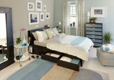AuBergewohnlich 50 Beruhigende Ideen Für Schlafzimmer Wandgestaltung