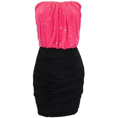 Chiffon Top Twist Panel Tube Dress and other apparel, accessories and trends. Browse and shop 32 related looks.