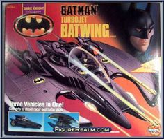 Kenner Batman - The Dark Knight Collection Batwing Vehicle 1991 Spiderman, Batman Collectibles, Tim Burton Films, Batman Action Figures, Old School Toys, Batman Universe, Dc Comics Art, Batman The Dark Knight, Batman Art