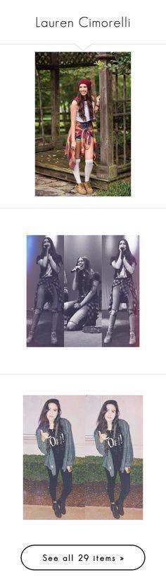 """Lauren Cimorelli"" by laurenluver ❤ liked on Polyvore featuring cimorelli, lauren, lauren cimorelli and people"