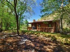Alarka creek cabin 1 bryson city cabin rentals for Gatlinburg cabins with fishing access