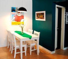 Quais são as medidas padrão mínimas para uma sala de jantar?