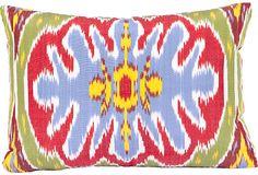 Love a beautiful Turkish Silk Ikat Pillow