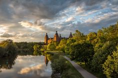 Biking!!! Best bike paths in the world (this pic is of the main River Bike Path, Germany)