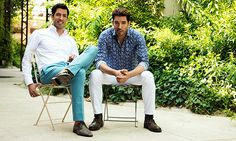 We hosted a lively #helloscottbros Twitter chat with the 'Property Brothers' (a.k.a @mrdrewscott and @mrsilverscott) and they shared their holiday favourites!