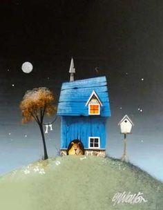 Gary Walton original 'Blue'