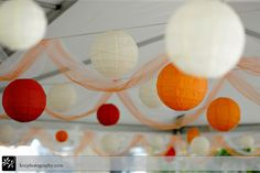 Tent decorations
