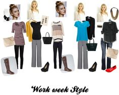 Work week style  Young and Professional