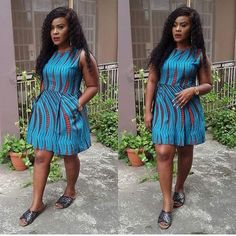 There are several ways to make yourself look fabulous with an Ankara fabric, Eve. African Tops For Women, African Dresses For Women, African Attire, African Wear, African Clothes, Styles Ankara, Aso Ebi Styles, Ankara Designs, Nigerian Outfits