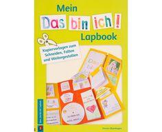 """Das """"Das bin ich!""""-Lapbook enthält 26 Vorlagen für Mini-Bücher  - mit sofort einsetzbaren Kopiervorlagen und tollen Tipps, für die Klassen 2-4 #lapbook #grundschule #grundschulunterricht #grundschulideen"""