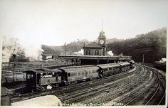 Paranapiacaba train station in 1910 / Sao Paulo state, Brazil