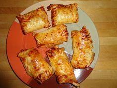 Apfel-Zimt-Blätterteigtaschen Super leckere Apfel-Zimt-Blätterteigtaschen aus dem Airfryer. Dies ist ein vegetarisches Gericht.