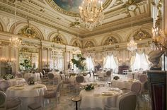 Le Louis XV - Monaco, France #restaurant