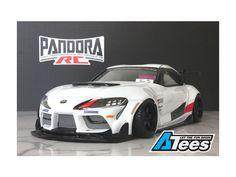 Pandora RC 1/10 Toyota GR Supra A90 GT4 Lexan Body - AsiaTees.com Rc Drift, Let The Fun Begin, Toyota, Pandora, Car, Automobile, Autos, Cars
