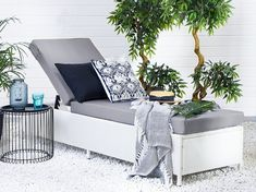 The garden sun lounger is crafted from eco-friendly, high-quality poly rattan, long lasting and weather resistant. Turin, Lounge Furniture, Garden Furniture, Outdoor Furniture Sets, Rattan Sun Loungers, Reclining Sun Lounger, Outdoor Chairs, Outdoor Decor, Bistro Set