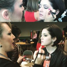 City editor Morgan Phillips gets glammed up for the Wine, Women and Shoes fashion show! #tulsa #moxiecouture #ywcatulsa