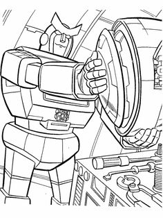 Transformer Color Pages