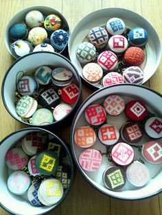 japanese traditional craft look like Macaroon.