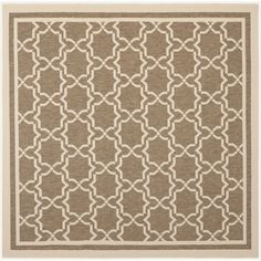 Safavieh Poolside / Bone Indoor/ Outdoor Rug