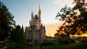 Inspired by the castle in Disney's Cinderella, the iconic Cinderella Castle is the symbol of Magic Kingdom park in Walt Disney World Resort..
