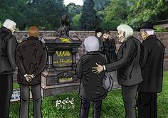 Wenn Waldi stirbt, verlangt das auch nach einer adäquaten Grabstelle.