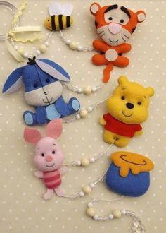 Felt Ornaments Patterns, Felt Patterns, Felt Crafts, Diy And Crafts, Felt Baby, Felt Decorations, Felt Christmas Ornaments, Sewing Dolls, Felt Fabric