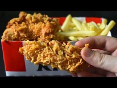 KFC Style Zinger Strips | KFC Style Chicken Fingers | Tenders| World's famous KFC fried Chicken - YouTube Kfc Style Chicken, Fried Chicken, Eid Special, Chicken Fingers, Ramadan Recipes, Chicken Strips, Fries, Sandwiches, Meat