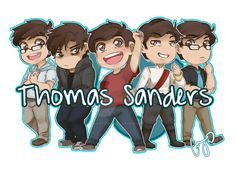 Thomas Sanders by Cami-Cat-Doodles on @DeviantArt