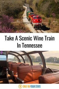 Take this relaxing wine-themed train ride in Tennessee with beautiful views and wine tasting! Camping In Tennessee, Tennessee Vacation, Tennessee Attractions, Wine Train, Mystery Train, Vacation Destinations, Vacation Ideas, Railway Museum, Beautiful Places To Travel
