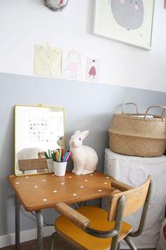 Kids vintage desk - bureaux vintage - Kidsdesign - Kidsroom - Scrivanie vintages per bambini, tante idee per dare un tocco di creatività alla cameretta. Lasciati ispirare dalle nostre immagini!
