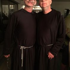 Our Monks at Halloween...