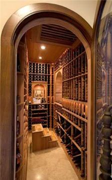 Your personal wine cellar doesn't have to be an entire room. A pantry or closet conversion can provide just enough space for storing your vintages.