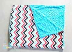Sew a minky blanket with this featured tutorial! | Go To Sew