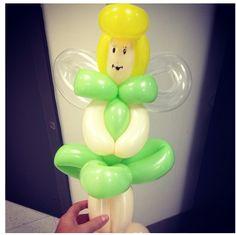 Tinkerbell balloon character #tinkerbell #balloon #character #art #sculpture #twist