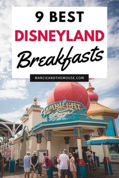 Looking for breakfast restaurants at Disneyland? Find out the 9 best Disneyland breakfasts in Disneyland and Disney California Adventure and a few tips on what to order. Disneyland Dining, Disneyland Restaurants, Disneyland Vacation, Disneyland California, Disney California Adventure, Disney Dining, Breakfast Restaurants, Disney Vacations, Disneyland Food