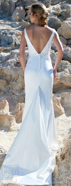 Elbeth Gillis Wedding Dress 2019 - Luminescence Bridal Collection    Bridal Gown   Wedding Gown   #weddingdress #weddingdresses #bridalgown #bridal #bridalgowns #weddinggown #bridetobe #weddings #bride #weddinginspiration #dreamdress #fashionista #weddingideas #bridalcollection #bridaldress #fashion #bellethemagazine #ido #dress See more gorgeous bridal gowns by clicking on the photo