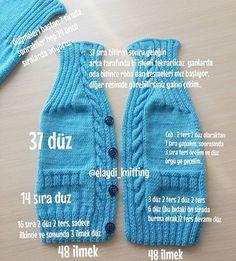 """İyi Akşamlar arkadaşlar mümkün olduğu kadar anlatmaya çalışıyorum biraz karışık görünebilir yazılar ama ancak buşekil siğdırabildim sayılarışimdiden yapacak olan arkadaşlara kolay gelsin.. . . <a href=""""/tag/handmade"""">#handmade</a> <a href=""""/tag/knitwear"""">#knitwear</a> <a href=""""/tag/erkekbebek"""">#erkekbebek</a> #örgümodelleri <a href=""""/tag/brei..."""