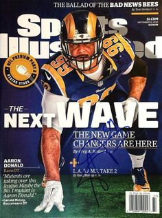 Sports Illustrated Back Issues Store Si Cover, Sports Illustrated Covers, La Rams, Nfl Season, Best Player, Game Changer, Bad News, News Games, St Louis