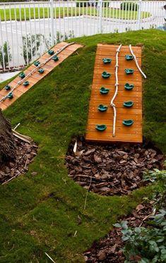 Adorable 39 Fun Backyard Playground for Kids Ideas