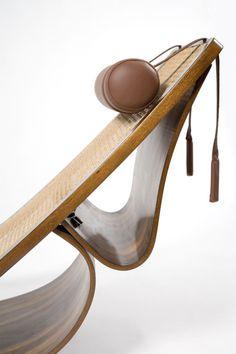 "1stdibs | Rare ""Rio"" chaise lounge by Oscar Niemeyer"