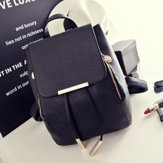 Preppy Style Candy Color Backpacks