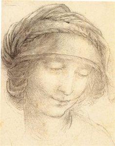 Saint-anne - Léonard de Vinci - Tableaux et dessins