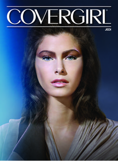 """Covergirlis celebrating the release of the new Star Wars film by releasing six looks that are inspired by the franchise. Each look, designed by Covergirl's Global Creative Design Director Pat McGrath, fits into the Light or Dark Side. The Light Side looks are """"Droid,"""" """"Jedi"""" and """"Mystic."""" The Droid look features gold on both the …"""