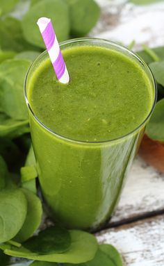 Spinach Smoothie With Pear