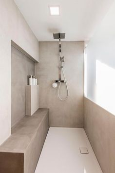 Minimalist Bathroom, Minimalist Interior, Minimalist Home, Modern Bathroom, Small Bathroom, Bathroom Taps, Interior Minimalista, Dream Home Design, Dream Bathrooms