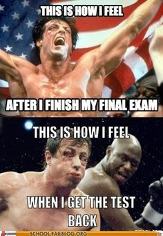 Haha i probably should be studying.. but im too addicted to see how much im going to fail my finals... sad.