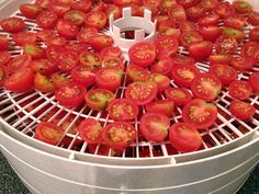 Preserve Cherry Tomatoes: Make Sweet Tomato Snacks >> http://www.diynetwork.com/made-and-remade/make-it/preserved-tomato-snacks?soc=pinterest